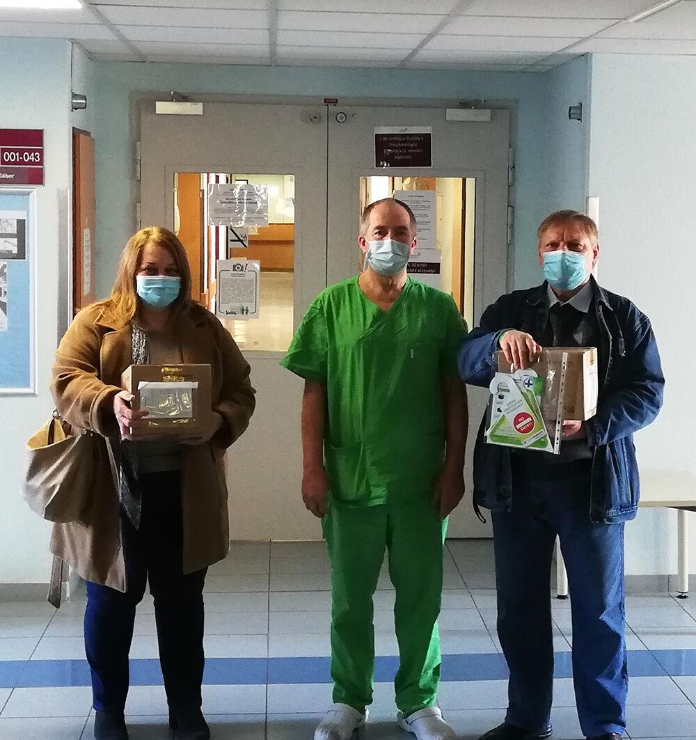 Ózongenerátor Sopron Kórház