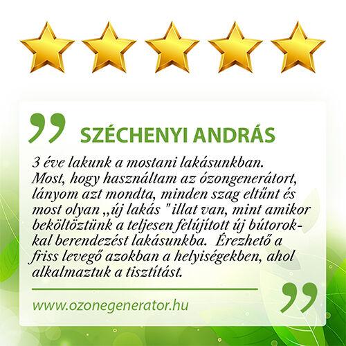 Ózon szagtalanítás vélemény - ozonegenerator.hu