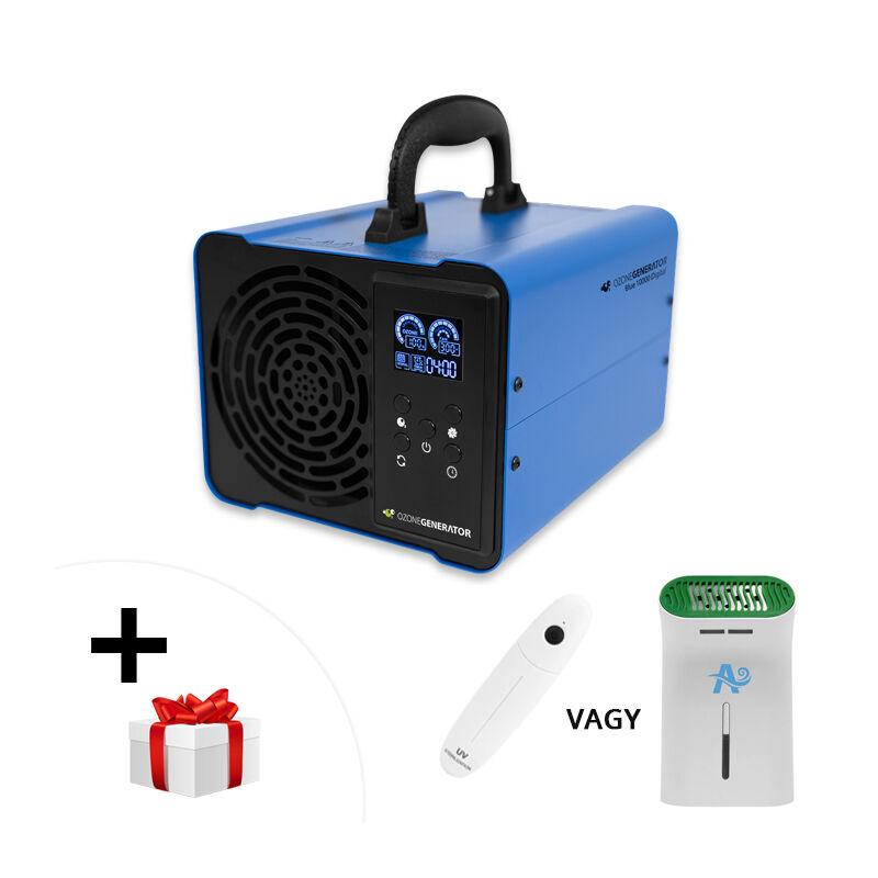 OZONEGENERATOR Blue 10000 Digital - ózongenerátor készülék 3 év garanciával: egyenesen az importőrtől, Készletről Azonnal + AJÁNDÉK!