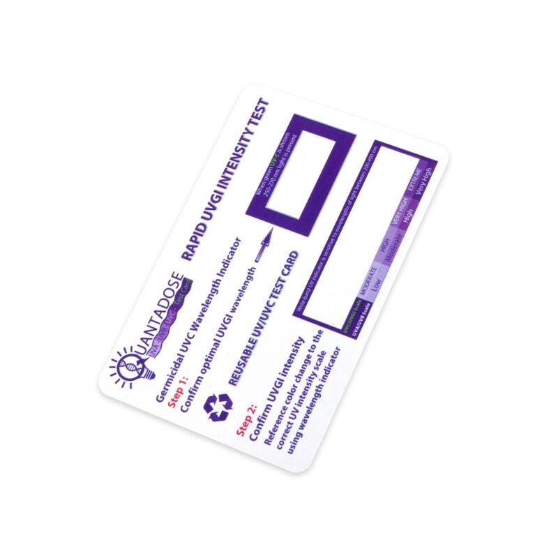 UV-C Plasztik tesztkártya