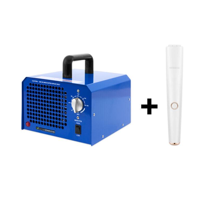 Speciális Ajánlat: Blue 7000 ózongenerátor készülék UV-C lámpával, Készletről Azonnal